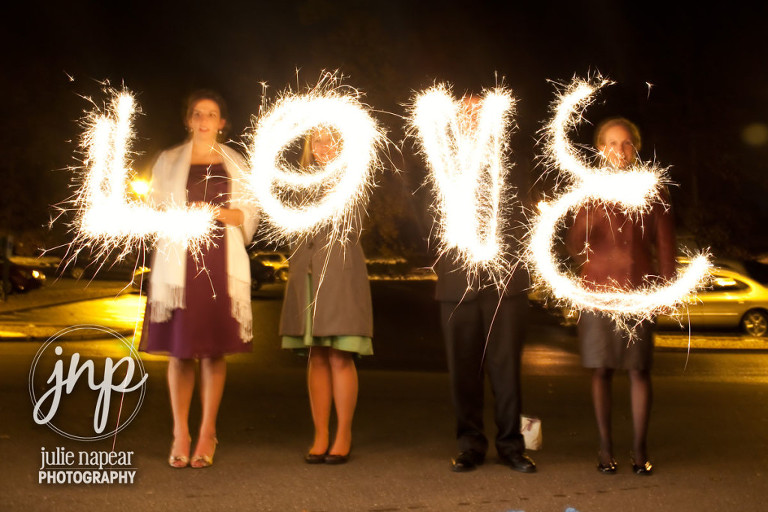 How to do a Sparkler Send-off at your Wedding | Julie Napear Photography